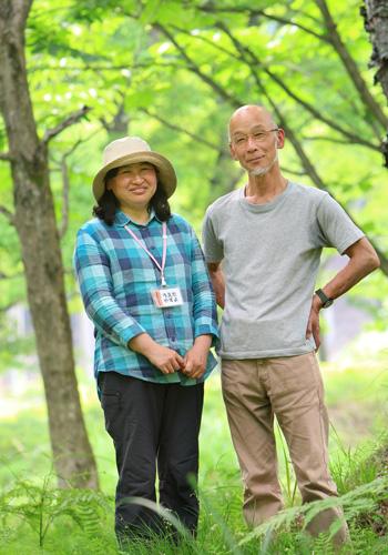 NPO法人麻生里山センター 海老澤 秀夫さんと上田 康世さんを訪ねて
