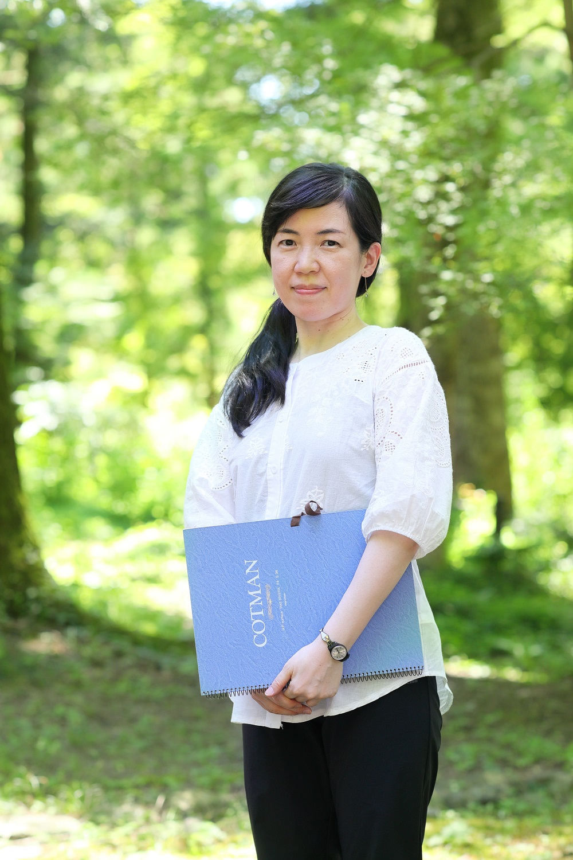 日本画家 河本 万里子さんを訪ねて
